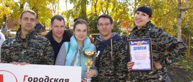 Команда амурского минздрава заняла второе место в соревнованиях по гражданской обороне