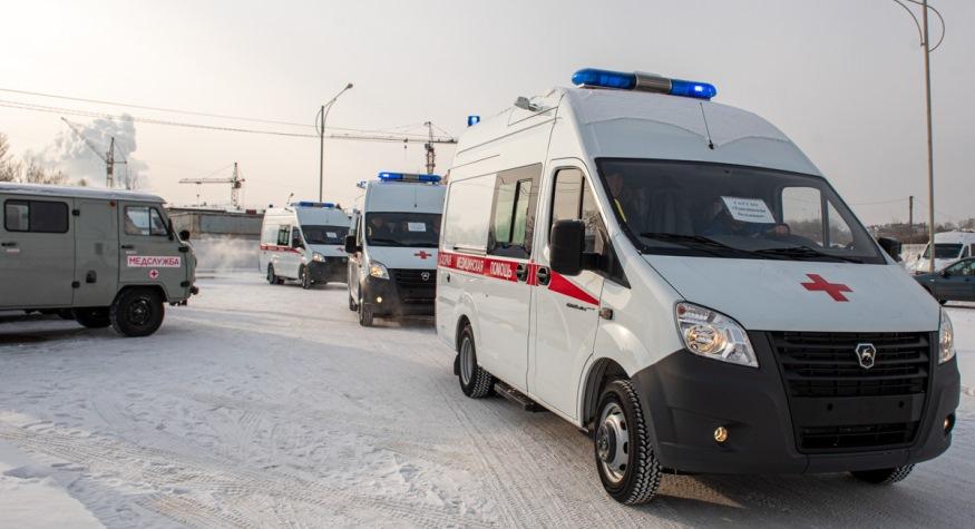 20 новых автомобилей «скорой помощи» получили медицинские учреждения Приамурья