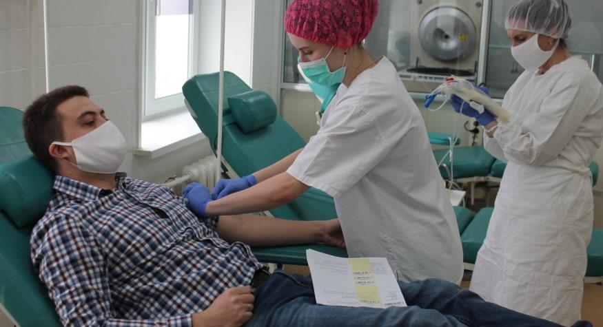 Национальный день донора амурская служба крови отмечает в обстановке борьбы с коронавирусом